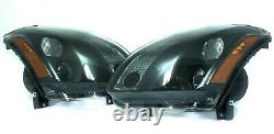 FOR 2004 2005 2006 Nissan Maxima Complete Direct Replacement Headlight Set NEW
