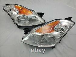 FOR 2007 2008 2009 Nissan Altima Complete 4 DR Direct Replacement Headlight Set