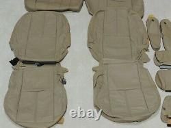 Factory Take Off Leather Seat Covers Fits Chevy Tahoe 2007-2009 Tan A48