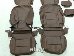 Factory Take-Off Leather Seat Covers Fits Chevy Tahoe LTZ Premier 2016-2020 A131