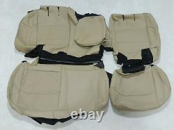 Factory Take-Off Leather Seat Covers Fits Jeep Wrangler Rubicon 2018-20 Tan A124