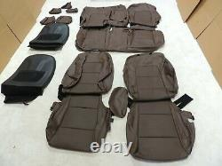 Factory Take-Off Leather Seat Covers Fits Kia Sportage LX 2017-2021 Brown A206