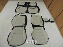 Factory Take-Off Leather Seat Covers Fits Mustang Coupe 2015-2020 Tan A5