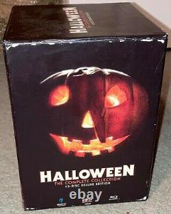 Halloween Complete Collection Blu-ray 15-disc Limited Oop Scream Factory Box Set