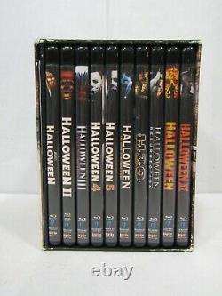 Halloween The Complete Collection 15-Disc Blu-Ray Box Set Scream Factory
