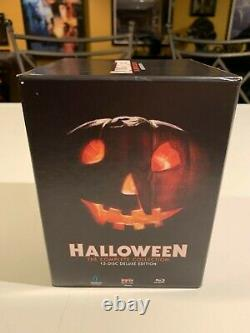 Halloween The Complete Collection 15 Disc OOP Blu Ray Set Scream Factory