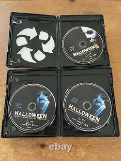 Halloween The Complete Collection OOP Scream Factory 15 Disc Deluxe Blu-ray Set