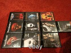Halloween The Complete Collection / Scream Factory / Blu-Ray Box Set / 15 Discs