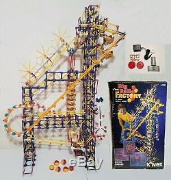 KNEX Big Ball Factory COMPLETE SET w Box, Instructions & DC Electric Motor K'NEX