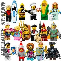 LEGO 71018 Minifigures Series 17 COMPLETE SET OF 16 FACTORY SEALED NEW RETIRED