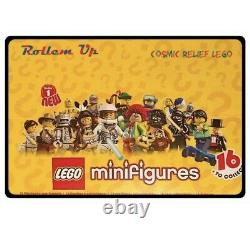 LEGO SERIES 1 MINIFIGURES (8683) Complete Set of 16 Minifigs. Factory Sealed