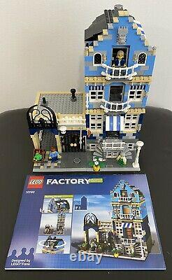 Lego Factory Set 10190 Market Street Modular Building Used Complete withFigs VGC