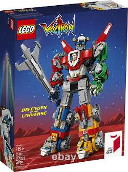 Lego Ideas 21311 Voltron New In Box and Factory Sealed Retired