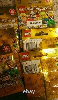 Lego Series 10 (71001) 16 Brand New & Factory Sealed (no Mr Gold) 2