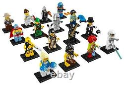 Lego minifigures series 1 (8683) complete unopened set of 16 new factory sealed