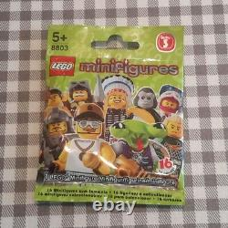 Lego minifigures series 3 (8803) complete unopened set of 16 new factory sealed