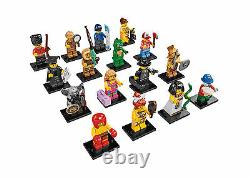 Lego minifigures series 5 (8805) complete unopened set of 16 new factory sealed
