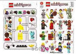 Lego minifigures series 6 (8827) complete unopened set of 16 new factory sealed