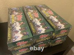 Lot (6) Full Case Of 2020 Topps Factory Complete Set factory sealed-green Box