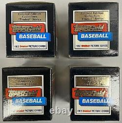 Lot of 4 1992 Topps Gold Traded Complete Limited Edition Factory Sealed Sets