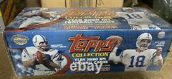 MINT 2000 TOPPS Complete FOOTBALL 440 Card Factory Sealed Box SET Brian Urlacher