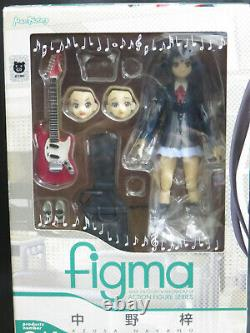 Max Factory FIGMA 057 058 059 060 061 K-ON! Yui Mio. 7 figures complete set