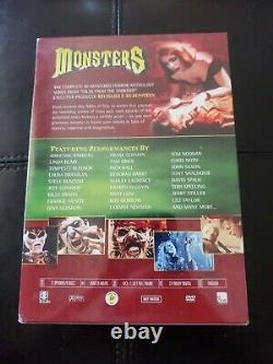 Monsters The Complete Series 9 Disc Set New Factory Sealed Rare Collection