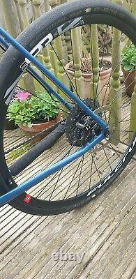Nukeproof Digger factory 58cm gravel bike comes with two complete sets of wheels