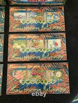 Pokemon Japanese Southern Islands Promo Complete Factory Sealed Set 18 Cards