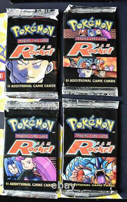 Pokemon Team Rocket Unlimited Booster Pack Complete Art Set WOTC Factory Sealed