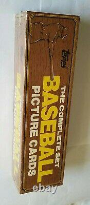 RARE! 1982 Topps Baseball Factory Sealed Complete Set in the Wood Grain Box