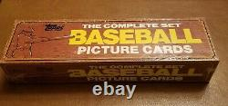 RARE! 1982 Topps Baseball Factory Sealed Complete Set with FREE SHIPPING
