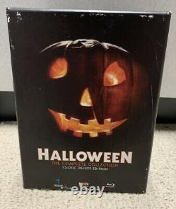 Scream Factory HALLOWEEN The Complete Collection 15 Disc Blu-ray Set OOP