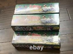 TOPPS 2020 MLB Baseball Complete Set 700 Cards Series 1 & 2 Factory Sealed Qty 5