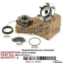 TOYOTA LEXUS FACTORY OEM 4x4 COMPLETE FRONT WHEEL BEARING SEAL HUB ASSEMBLY SET