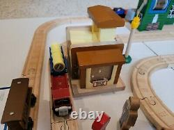 Thomas Wooden Rare Deluxe Chocolate Factory Set Complete! Please Read Details co