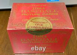 Topps 1984 Baseball Tiffany Limited Edition Collectors Traded Set FACTORY SEALED