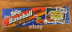 Topps 1993 Complete Set of Series 1 & 2 Baseball Cards Factory Sealed Jeter RC