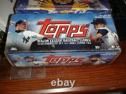 Topps 1995/1996/1999/2000 Baseball Complete Factory Sealed Sets Mantle