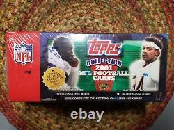 Topps 2001 Football Complete 385 Card Factory Sealed Set DREW BREES Rookie RC