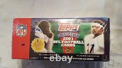 Topps 2001 Football Complete Set Factory Sealed DREW BREES Rookie RC