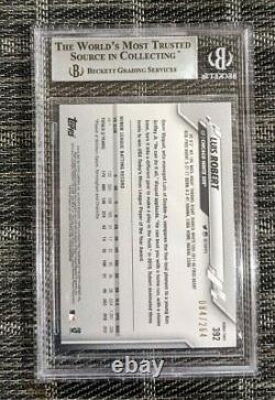Topps 2020 LUIS ROBERT Factory/Complete Foilboard /264 SSP RC Rookie BGS 9 MINT