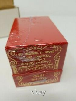 Topps Tiffany Traded 1990 Complete Factory Sealed Limited Edition Set