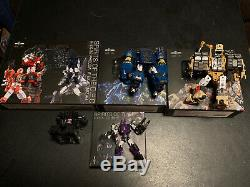 Transformers Iron Factory DJD Spirits of the DEC Set Complete