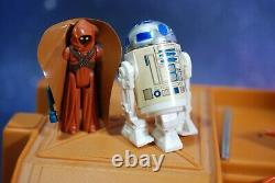 VINTAGE Star Wars COMPLETE DROID FACTORY PLAYSET + ACTION FIGURE KENNER play set